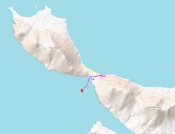 6 mars 2019 : dernier débarquement aux Falkland sur l'île Saunders