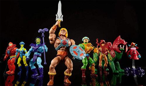 Les jouets Musclor et les Maîtres de l'Univers
