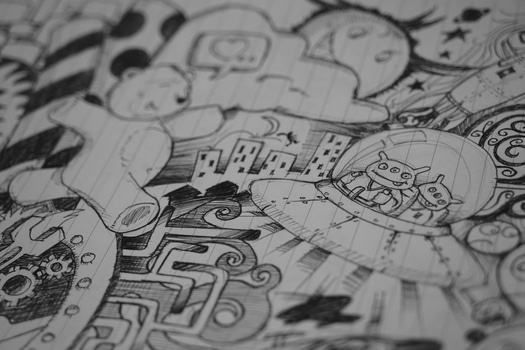 Free stock photo of art, drawing, sketch, doodle