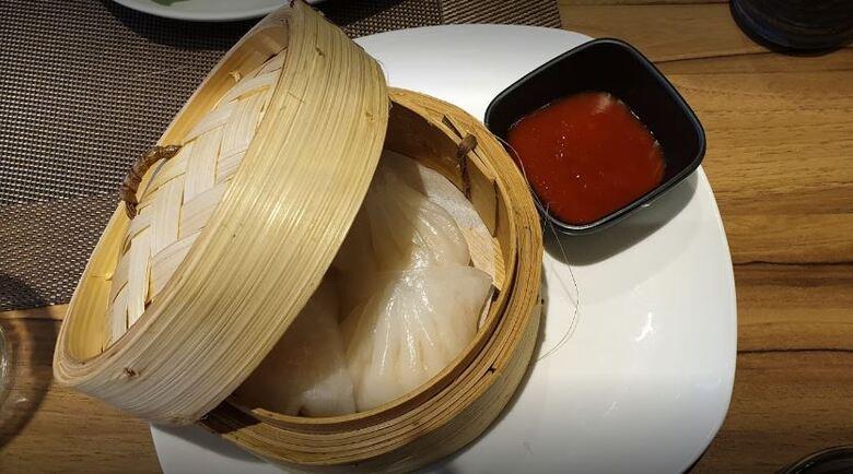 Ravioli crevettes
