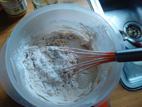 Cake Framboise/cacahuète...{Vegan}