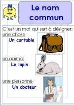 Affichages grammaire CE1