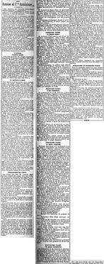 Quelques notes sur Antoine et l'Antoinisme (Journal de Bruxelles, 25 juin 1911)(Belgicapress)