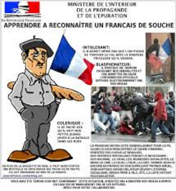 Les  Puants du FN, racisme primaire et  fascistes en herbe...
