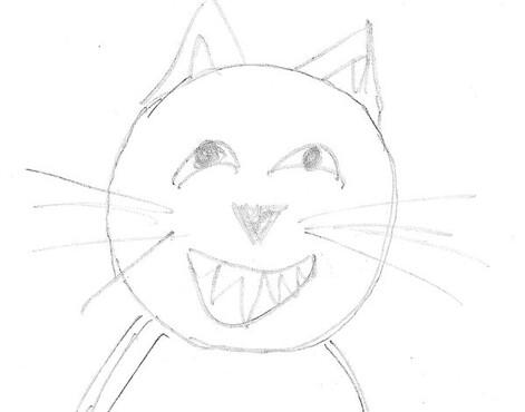 le chat croquis Sylvie 1