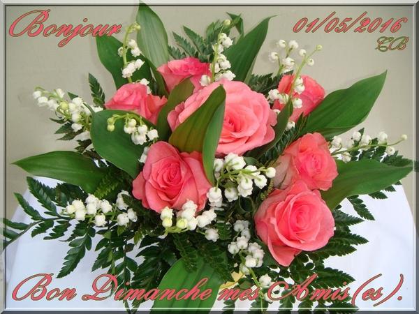Bonjour et bonne journée du 1er Mai
