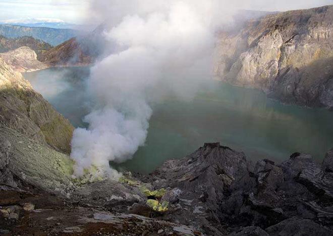 Volcan Ijen à Java