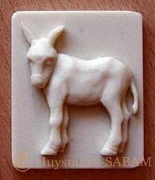 Magnet âne - Arts et sculpture: sculpteur mouleur
