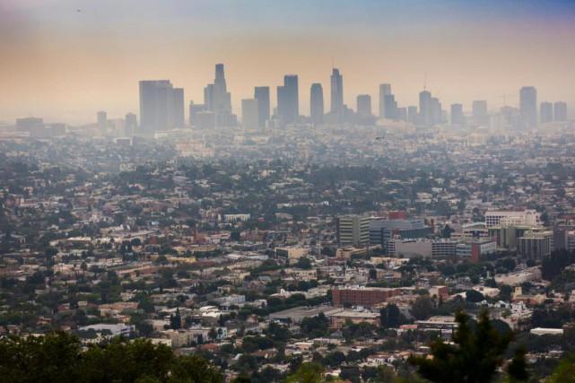 Le centre-ville de Los Angeles a connu des... (Photo Olivier Jean, archives La Presse)