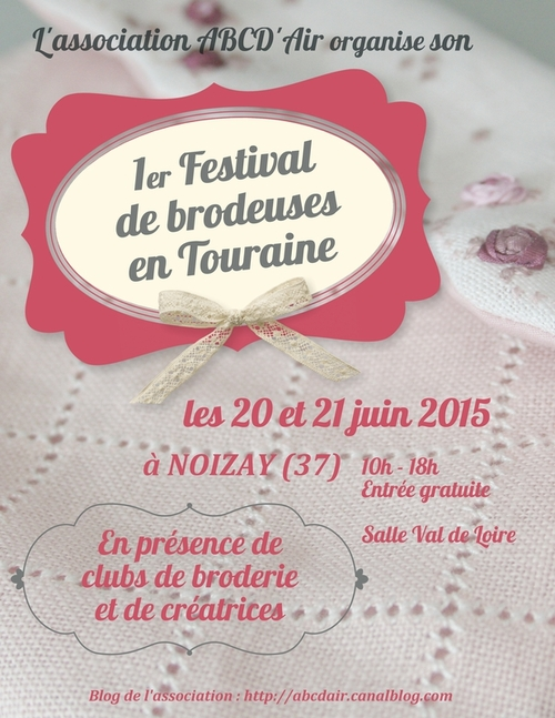 Festival de Brodeuses à Noisay...