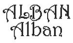 Dicton de la St Alban + grille prénom !