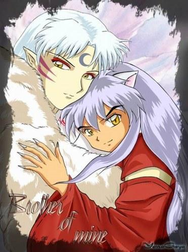 Inuyasha et son frere Sessshomaru