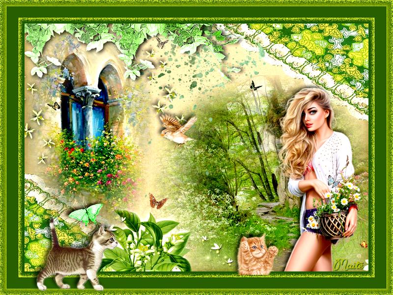 **Jardins sereins et paisibles...