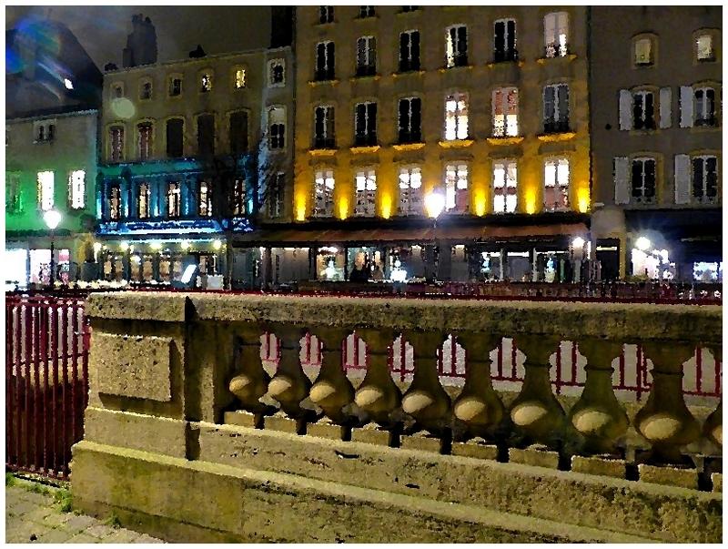 Metz / Glacial 21 janvier 2015...