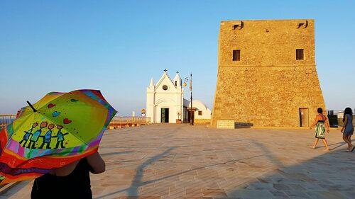 Parapluie en Italie