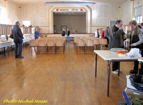 La Société Mycologique du Châtillonnais a organisé une exposition de très beaux champignons à Mussy sur Seine...