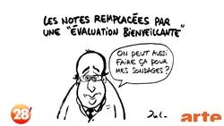 Charlie Hebdo parle de l'école
