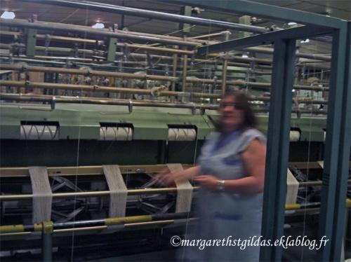 Visite d'une filature en Creuse - 3