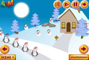 Jouer à AVM Santa rescue from snow hut