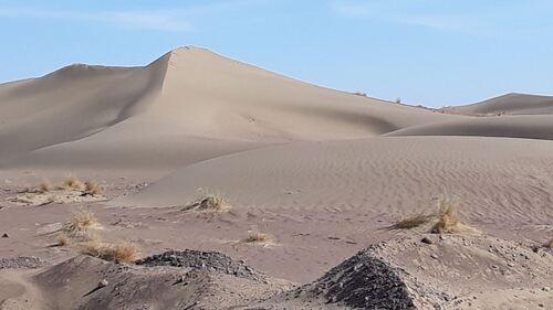 Des belles petites dunes