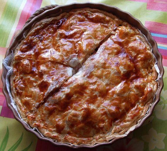 Le pâté de viande et de pommes de terre à la crème (Limousin)
