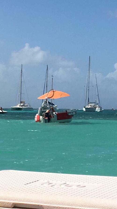 BBQ dans l'eau avec Nemo
