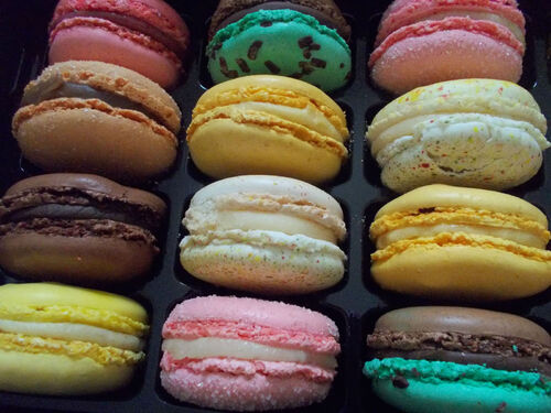 Macarons de Florent Sourice