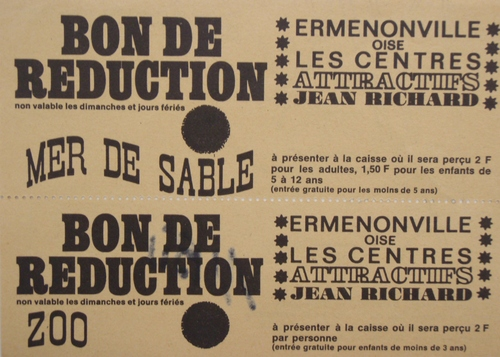 La Mer de Sable : divers documents des archives de Vincent Bouderlique