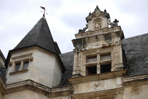 Chateau de Pau, la cour intérieure