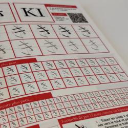 Nihongo, ou apprenez vos alphabets comme les japonais.