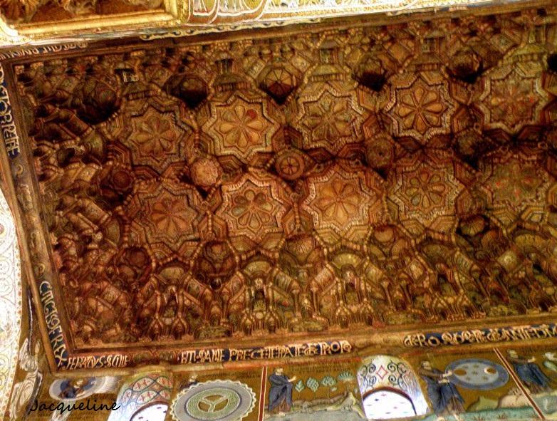 Le plafond arabe...