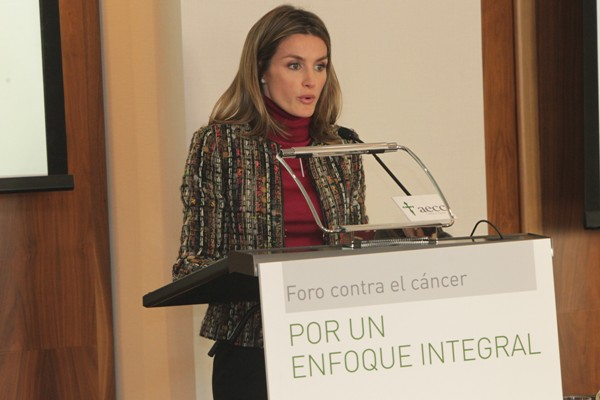 Letizia contre le cancer