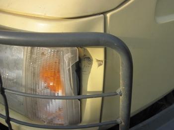 143 Camion après accident