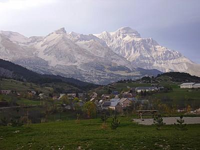 devoluy village