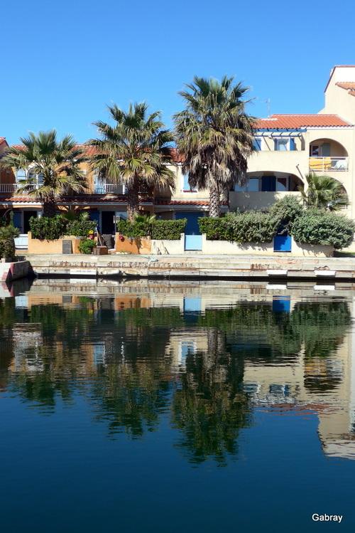 Le Barcarès: des reflets à Nautica ...