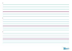Lignes seyès différentes largeur