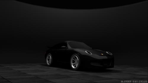 Encore une voiture... (porshe 911 GT3)