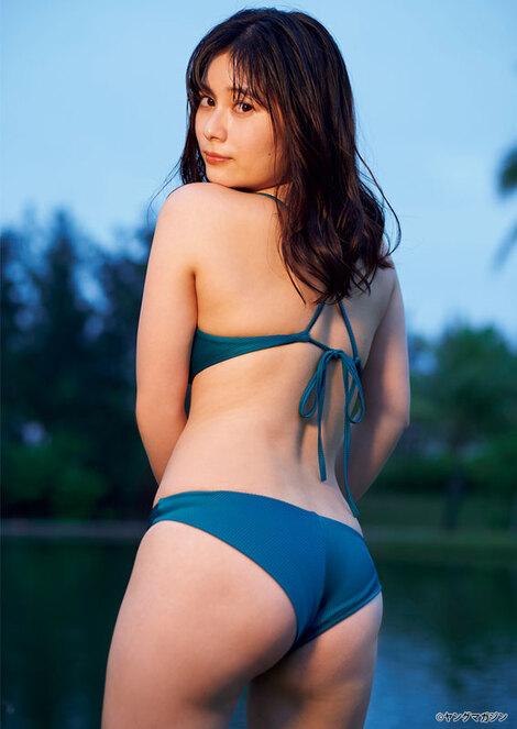 Magazine : ( [Young Magazine] - 2020 / N°18 - Sakurako Okubo & Maami Staring )