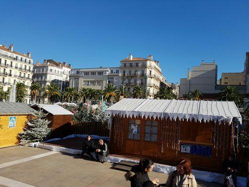 Le marché de Noël à Toulon