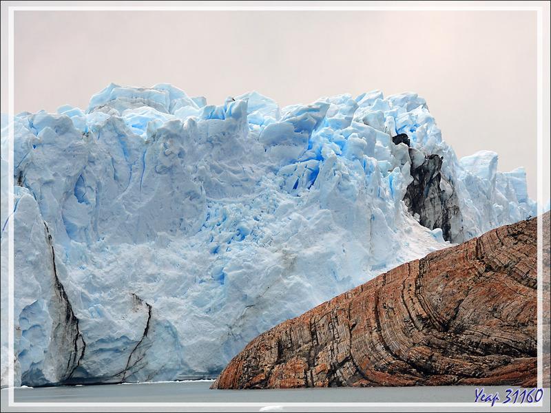 Nous partons en bateau, sur le Brazo Rico du Lago Argentino, afin de nous approcher du front du glacier Perito Moreno - Patagonie - Argentine