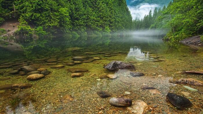 Beauté de la nature les rivières