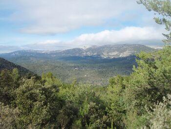 Le massif de la Sainte-Baume