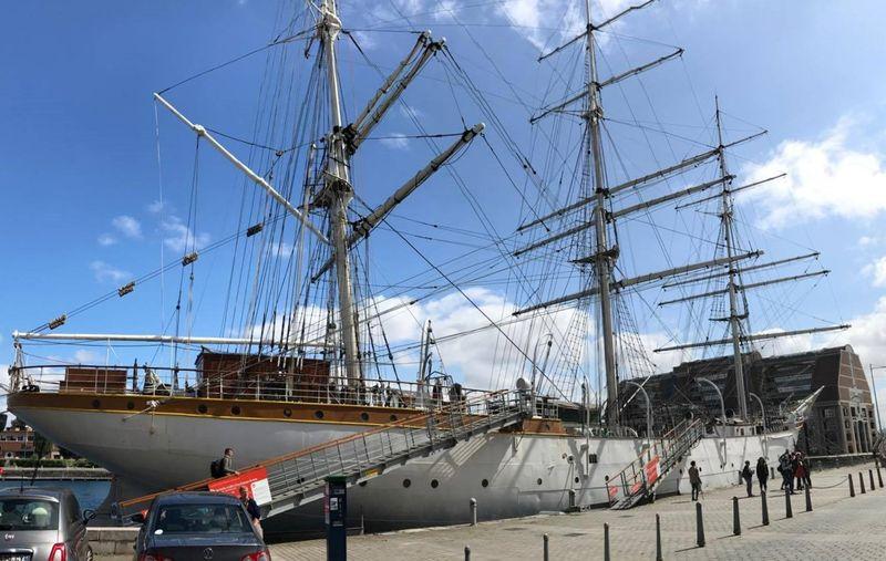 """Visite Dunkerque et """" Le Duchesse Anne """"."""