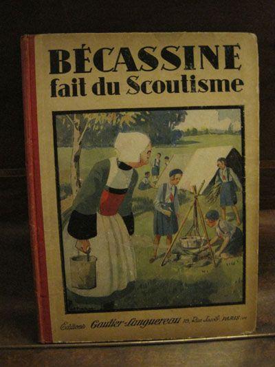 Becassine fait du scoutisme.:
