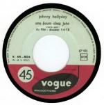 Johnny Hallyday - Dossier 1413 - 1961