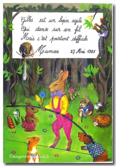 L'origine du lapin agile