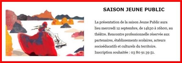 Venez tous assister au lancement de la saison  2018-2019 au Théâtre Gaston Bernard de Châtillon sur Seine !