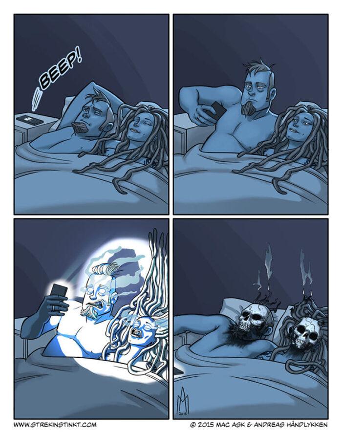 bandes dessinées avec une tournure surréelle
