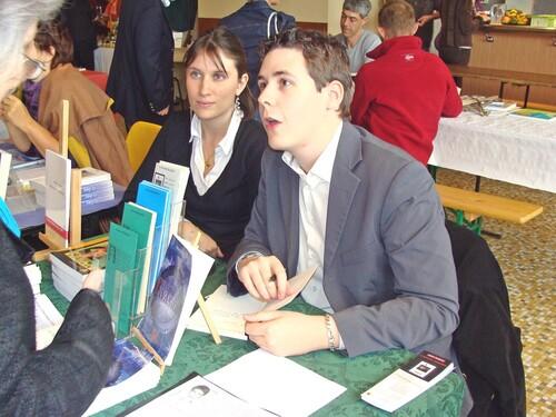 Des livres au Village 2009 à Recey sur Ource