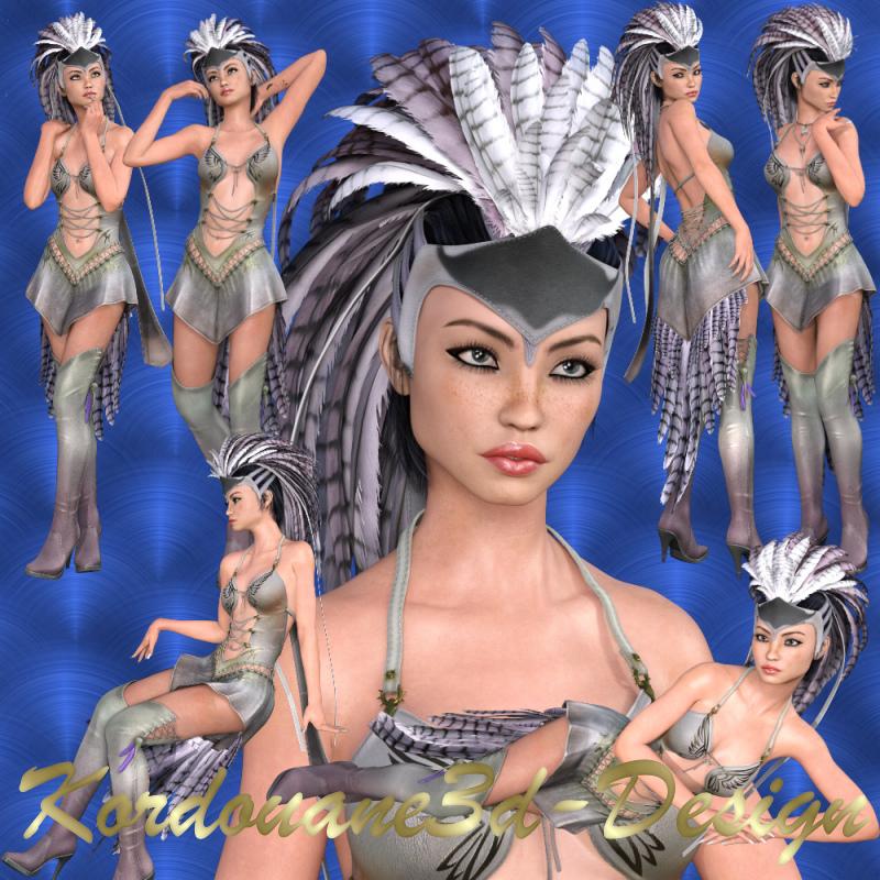 Norma femme fantasy (tube-image)